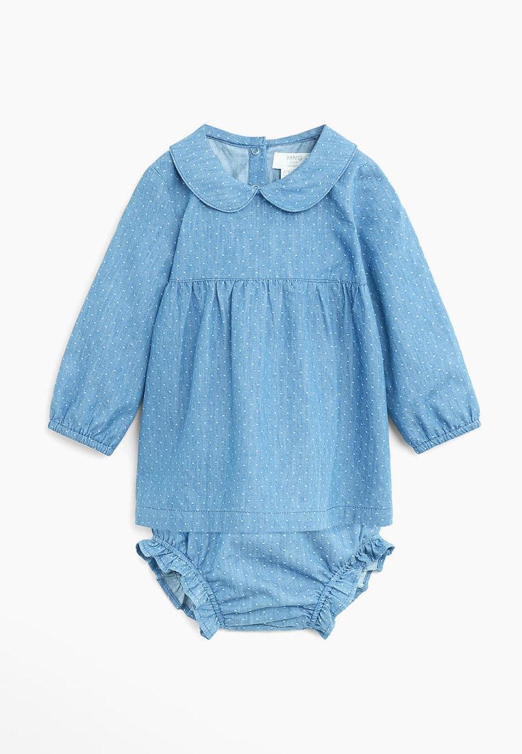 Повседневное платье Mango Kids (Манго Кидс) 67013260