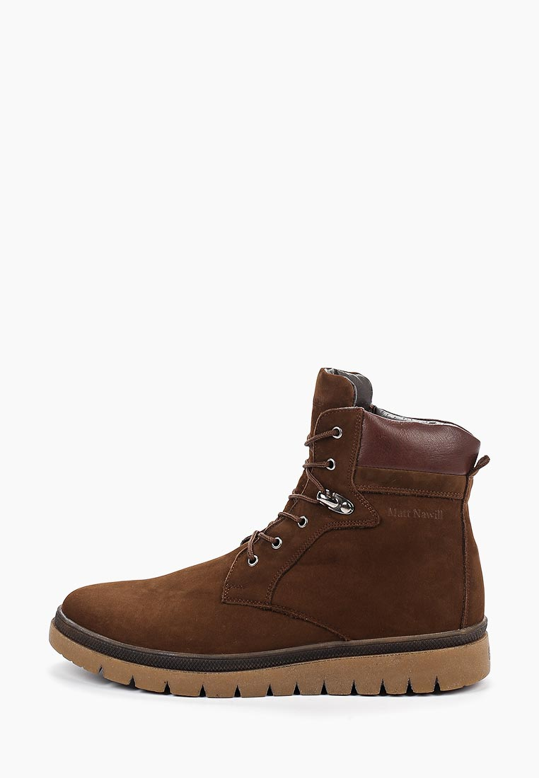 Мужские ботинки Matt Nawill 907598BRN