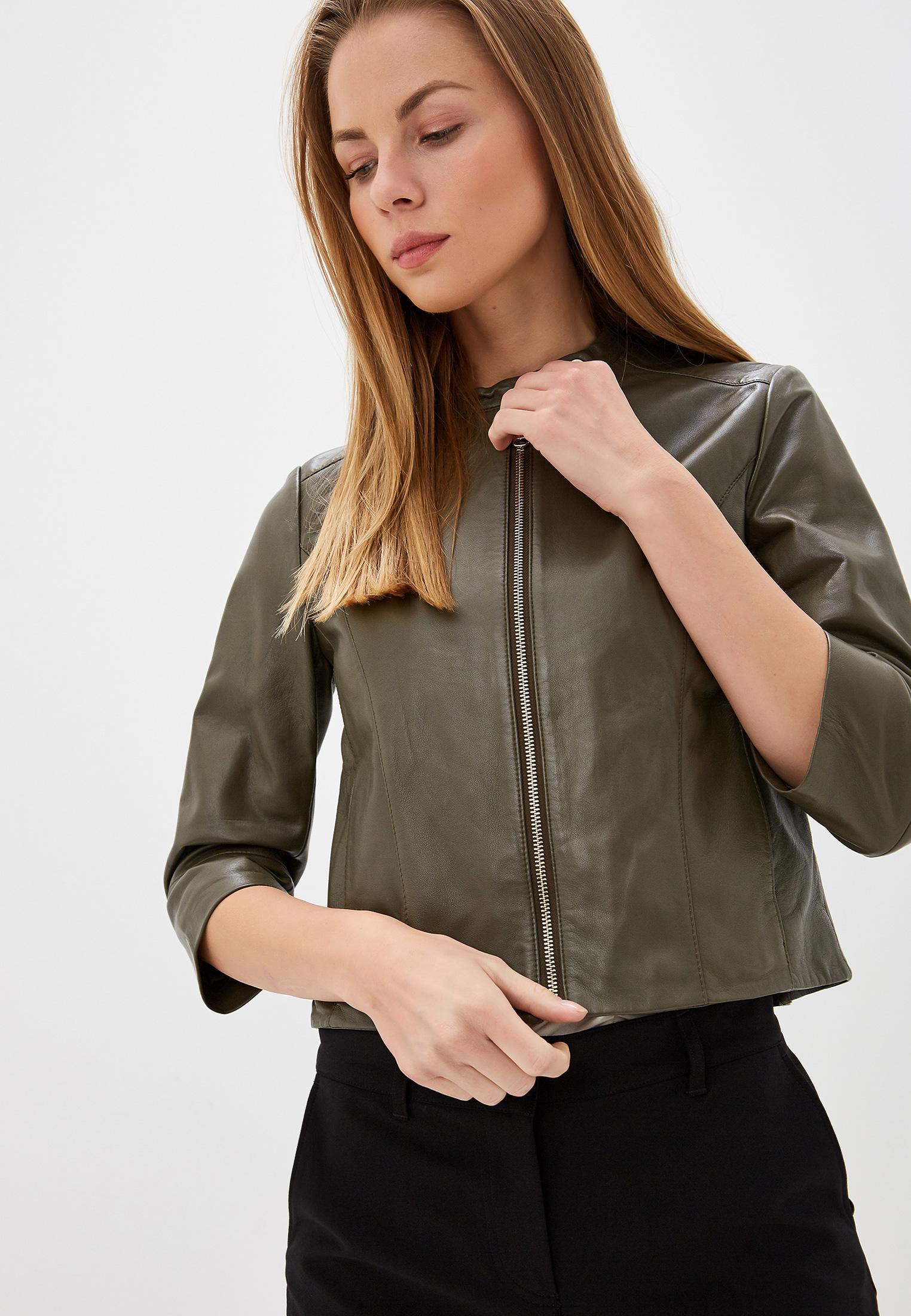 Кожаная куртка MAX&Co 64445119