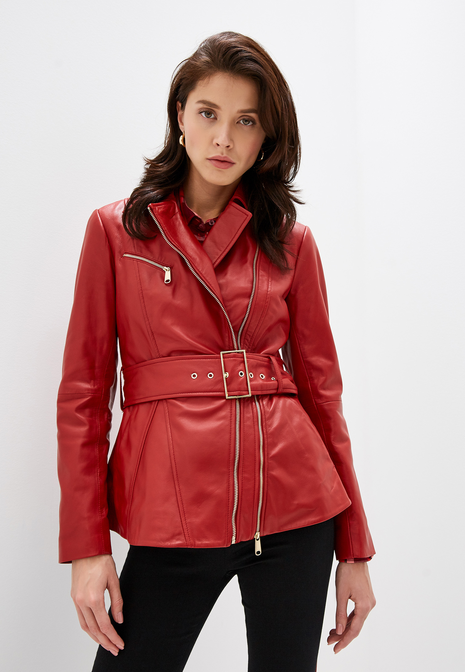 Кожаная куртка MAX&Co 64445219