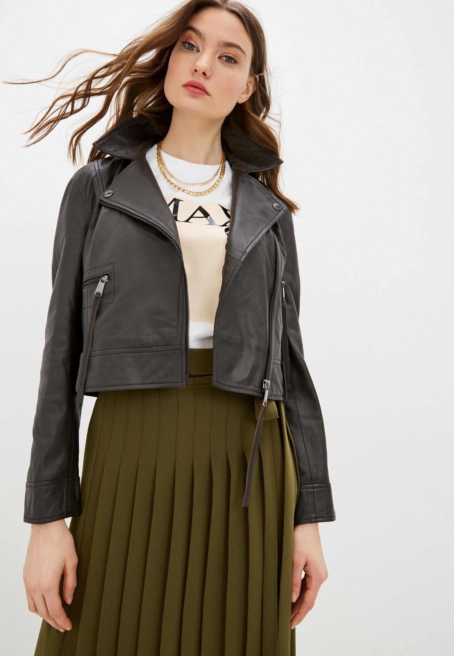 Кожаная куртка MAX&Co 64415020