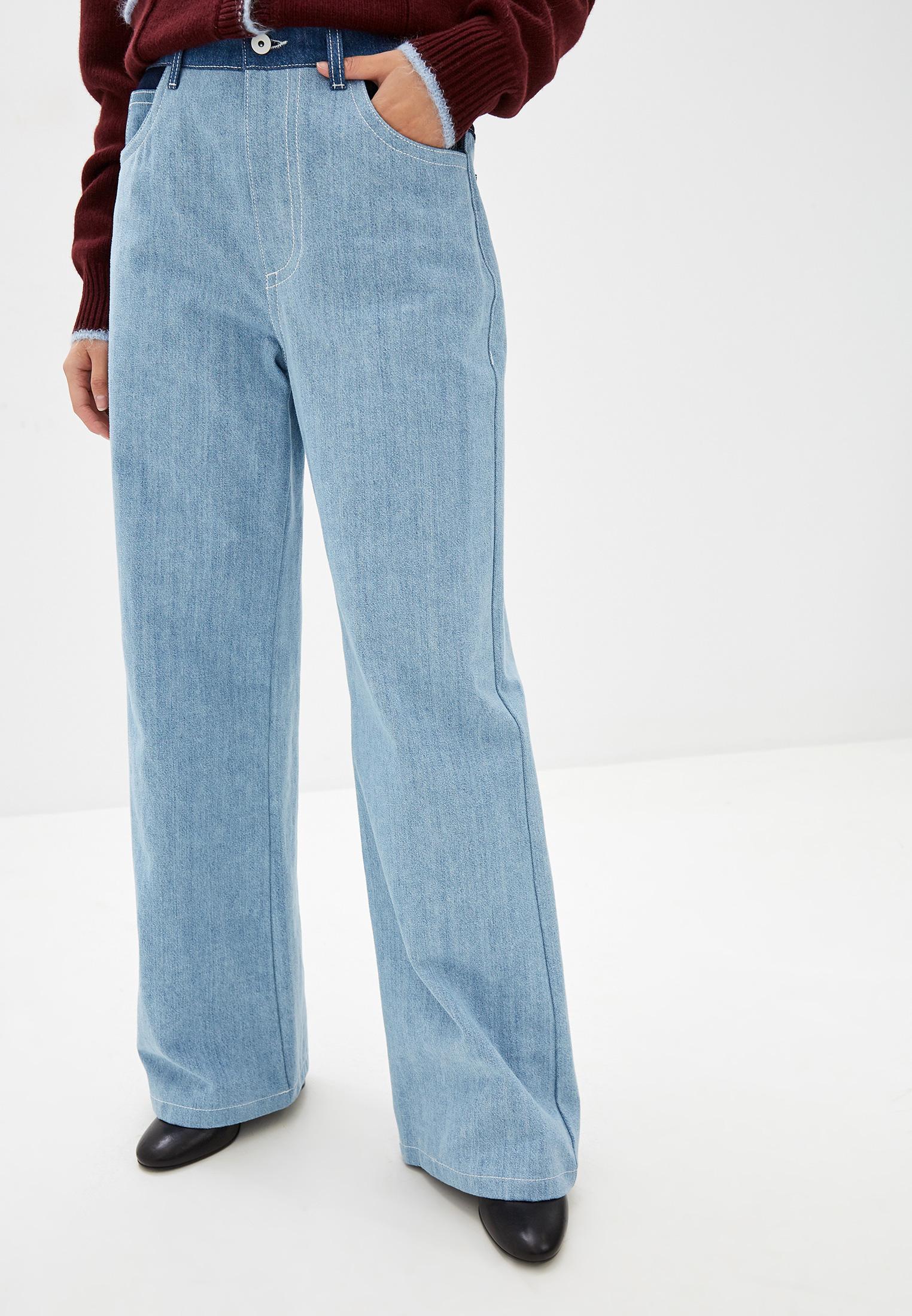 Широкие и расклешенные джинсы MARNI PAJD0101Q1
