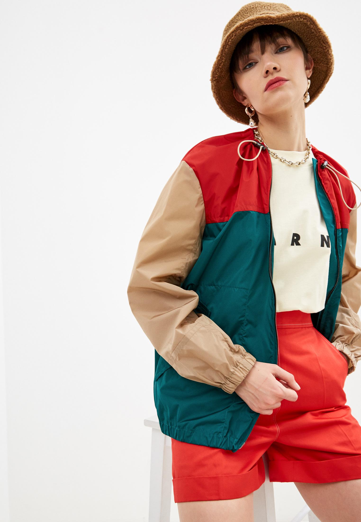 Утепленная куртка MARNI JKMA0095Q0