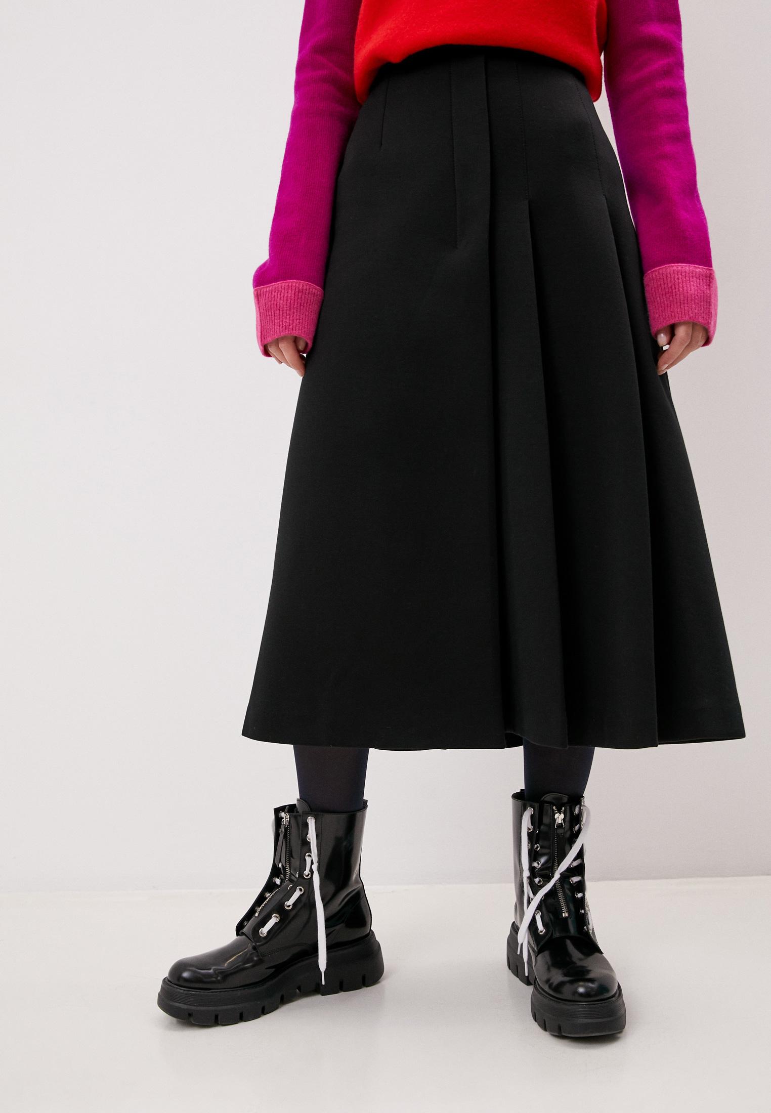 Широкая юбка MARNI GOJE0303A0TCY52