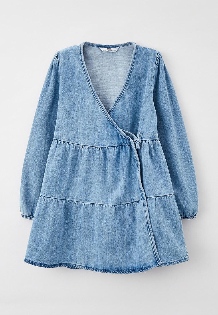 Повседневное платье Marks & Spencer Платье джинсовое Marks & Spencer