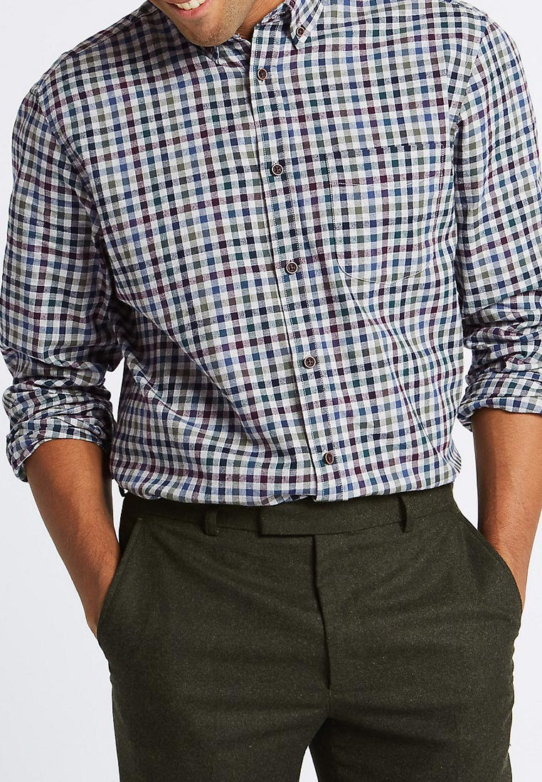 Рубашка с длинным рукавом Marks & Spencer T251108MJ4