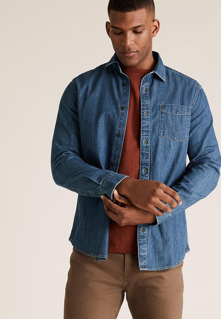 Рубашка с длинным рукавом Marks & Spencer Рубашка Marks & Spencer