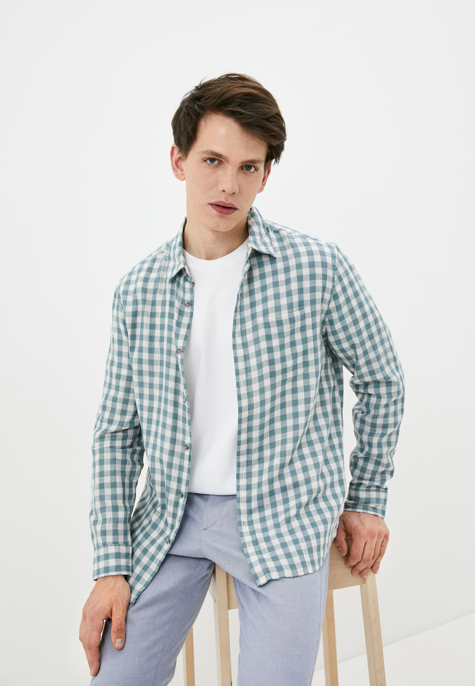 Рубашка с длинным рукавом Marks & Spencer T251097MJ0