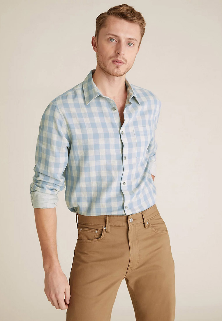 Рубашка с длинным рукавом Marks & Spencer T251098ME1