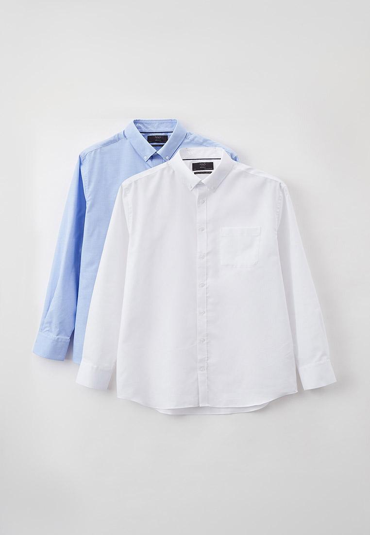 Рубашка с длинным рукавом Marks & Spencer Рубашки 2 шт. Marks & Spencer