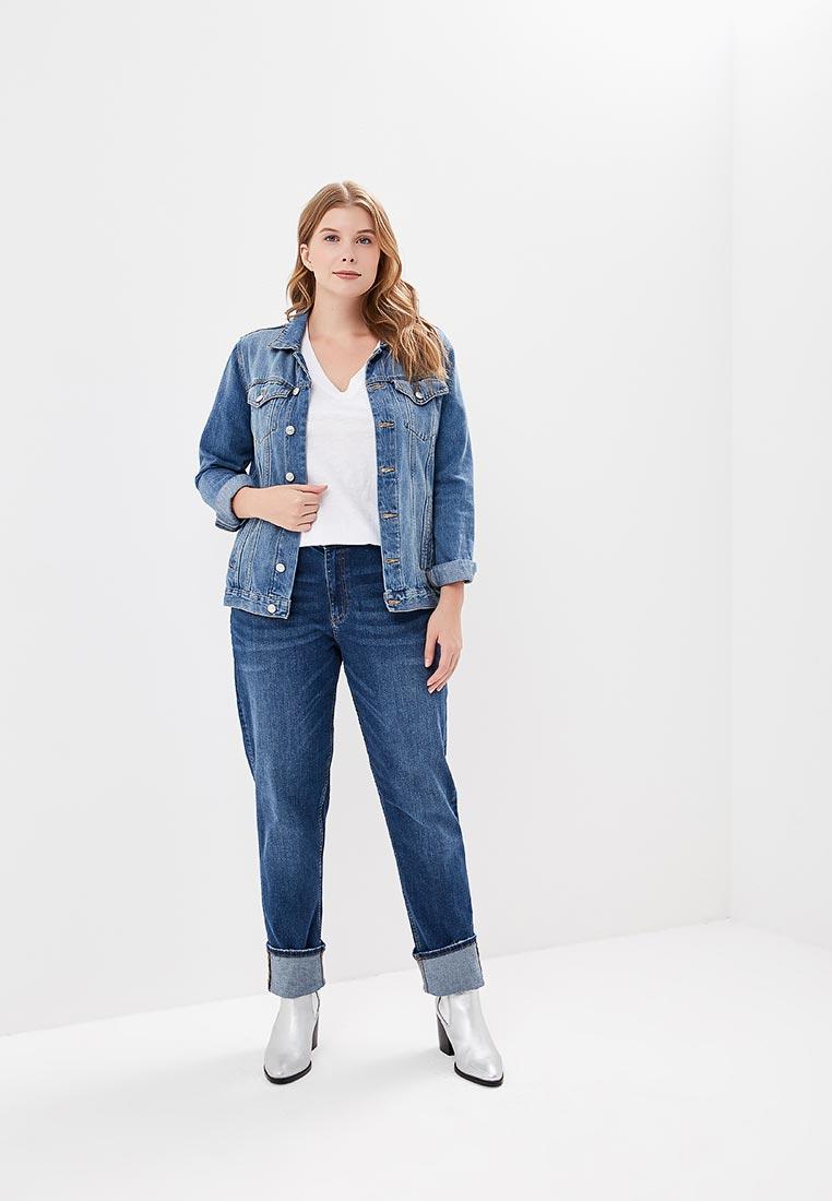 Зауженные джинсы Marks & Spencer T578607GJ: изображение 5