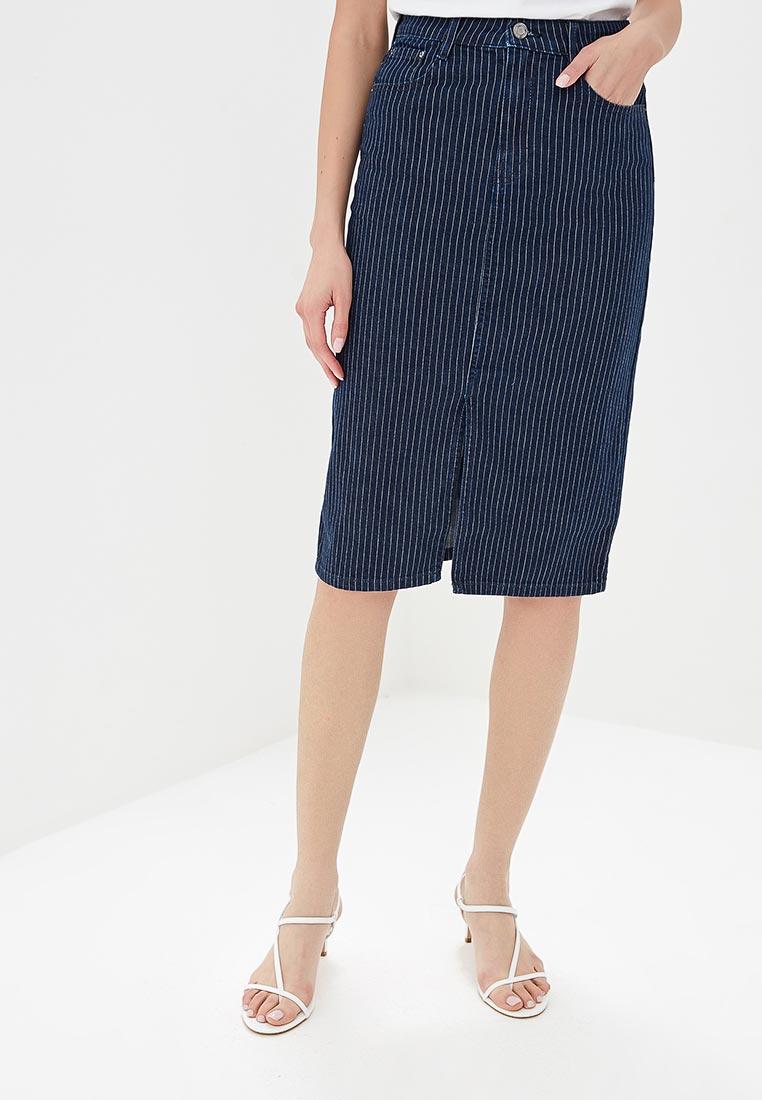 Джинсовая юбка Marks & Spencer T579002XXB