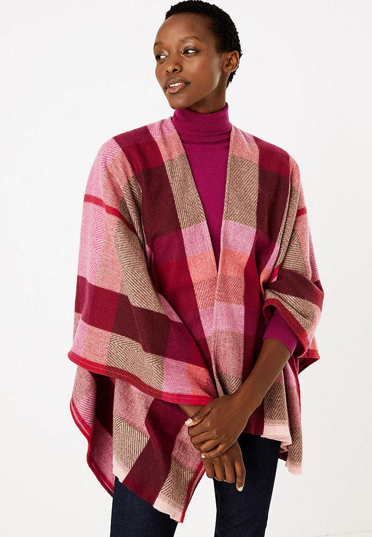 Vivance Collection Da Donna Dolcevita in forma Poncho grandi dimensioni rosé
