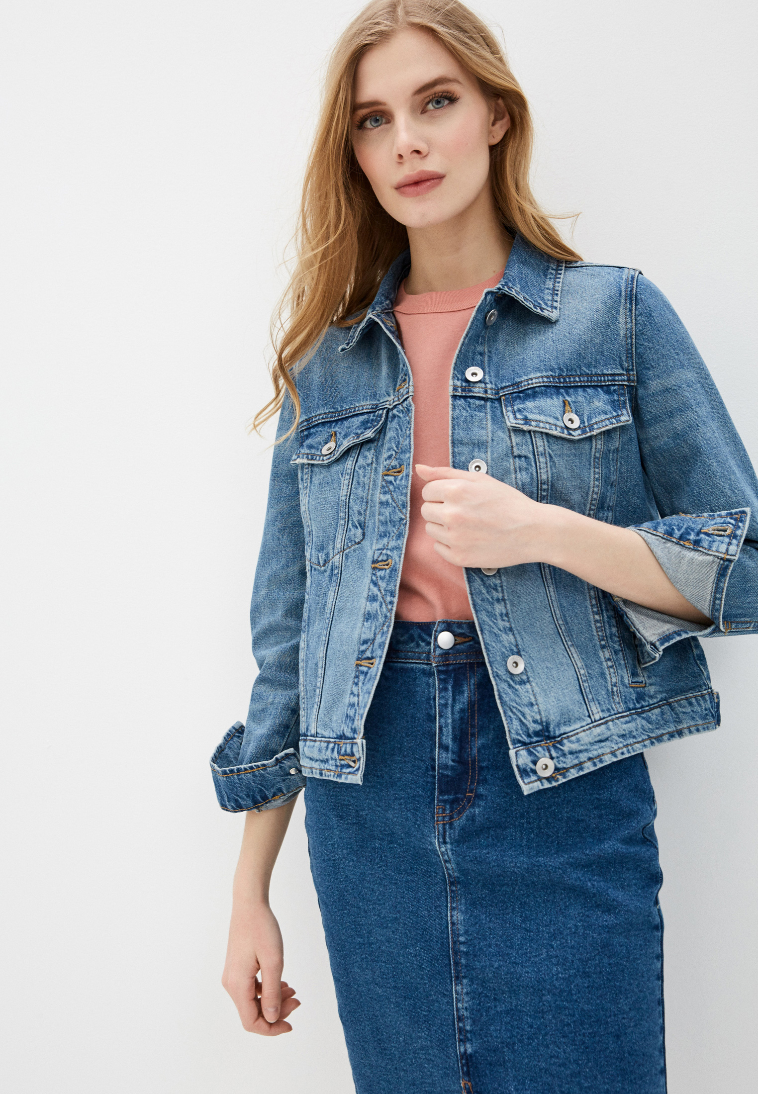 Джинсовая куртка Marks & Spencer T494113QQ
