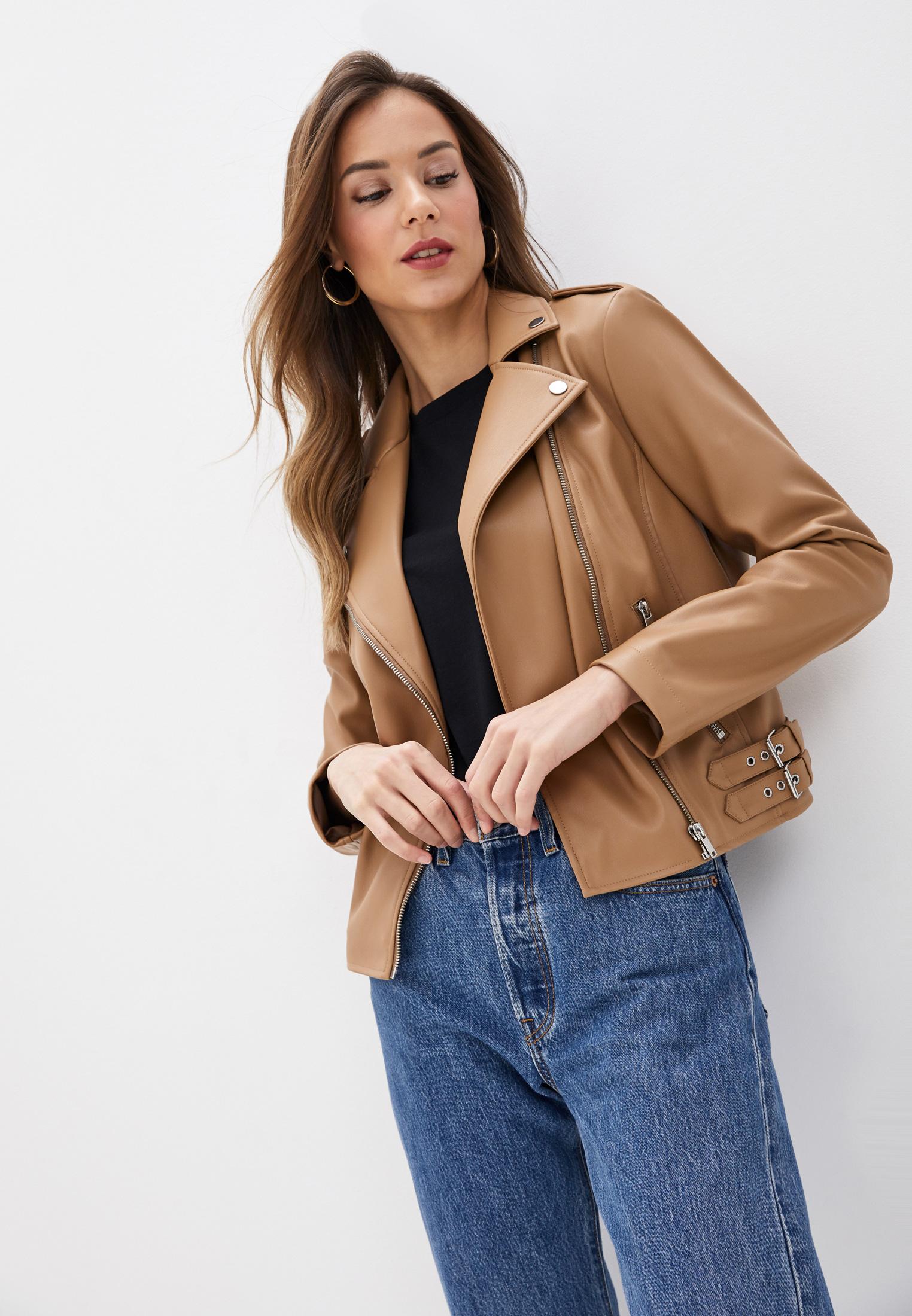 Кожаная куртка Marks & Spencer T494116M3