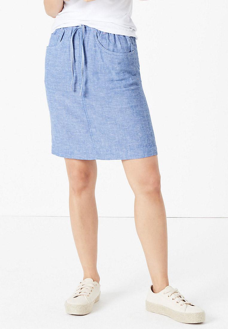 Прямая юбка Marks & Spencer T579689SA