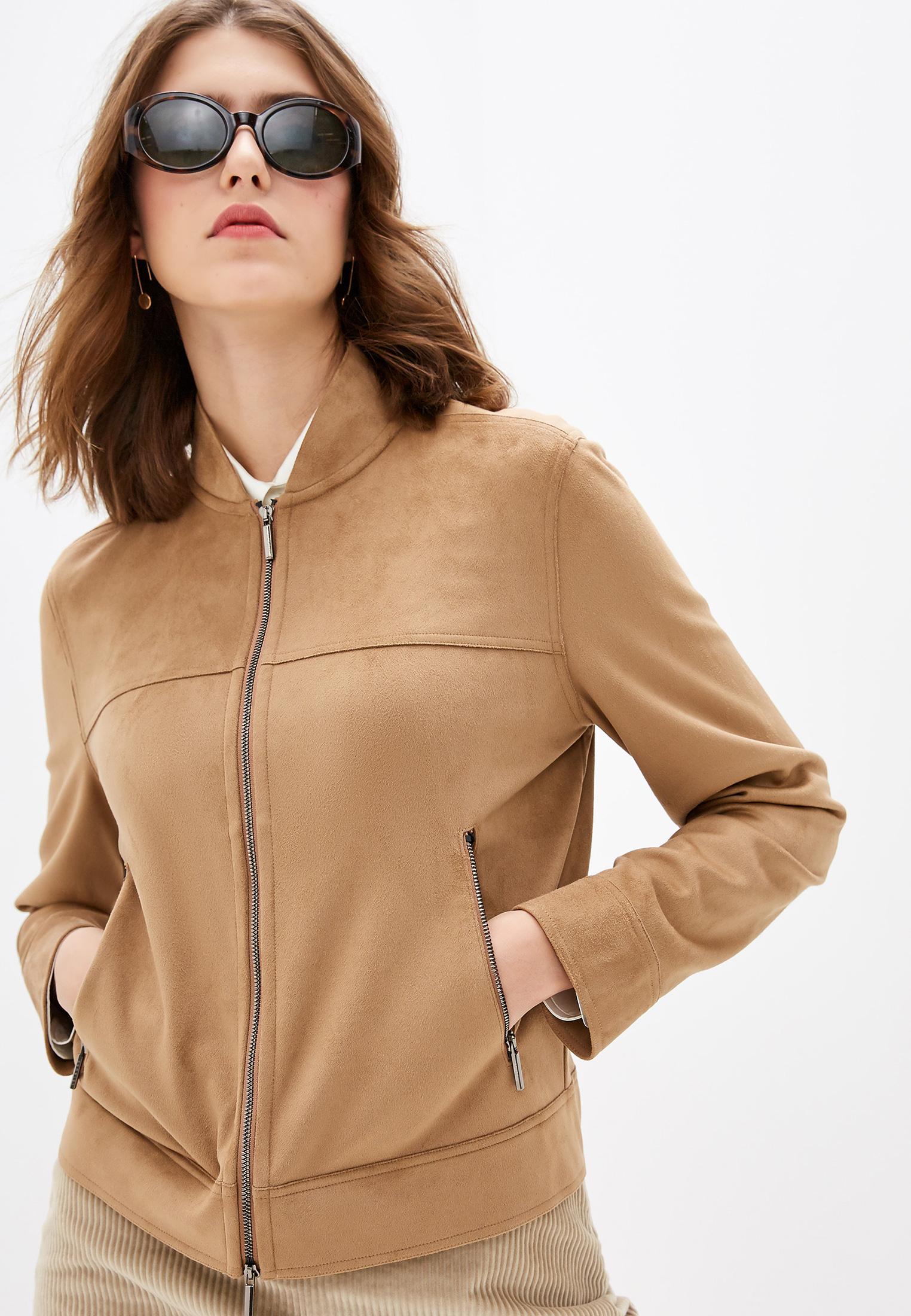 Кожаная куртка Max Mara Leisure TIROLO