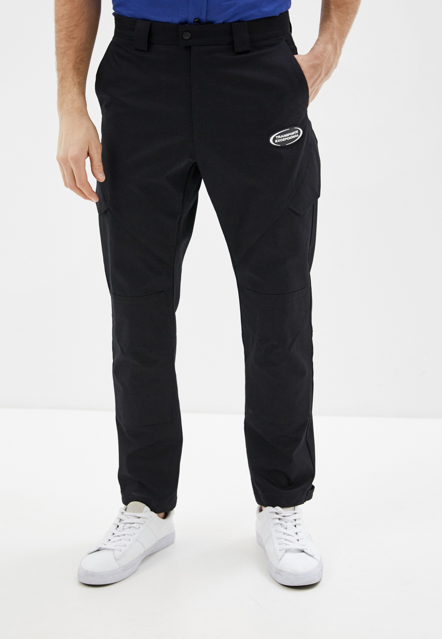 Мужские брюки Marcelo Burlon County of Milan CMCF008S20FAB002
