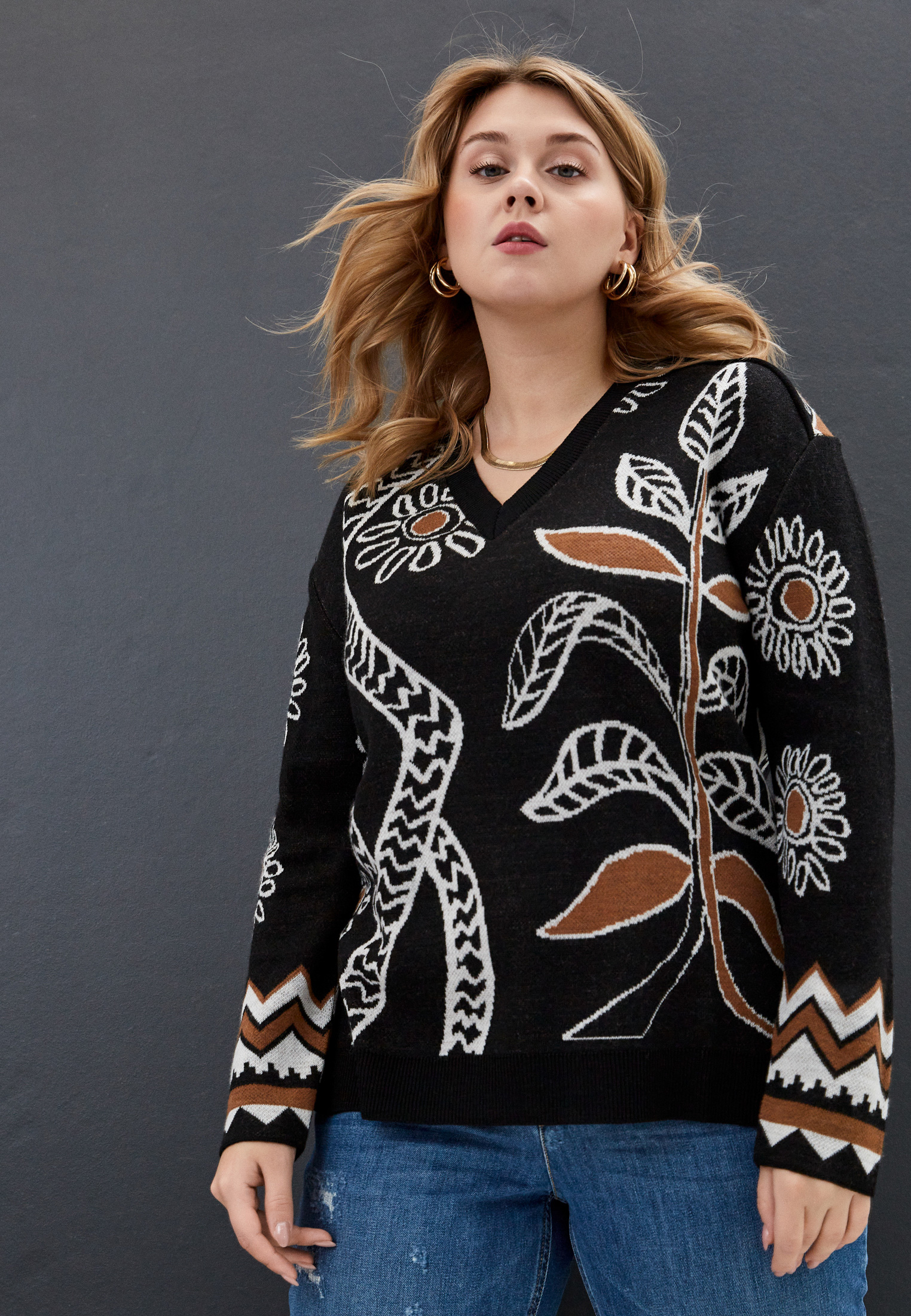 Пуловер Marina Rinaldi Sport 5363340