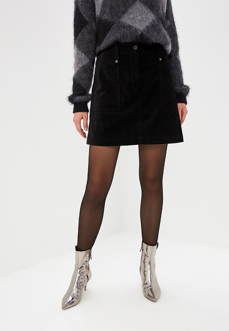 Широкая юбка McQ Alexander McQueen 513550 RLF07