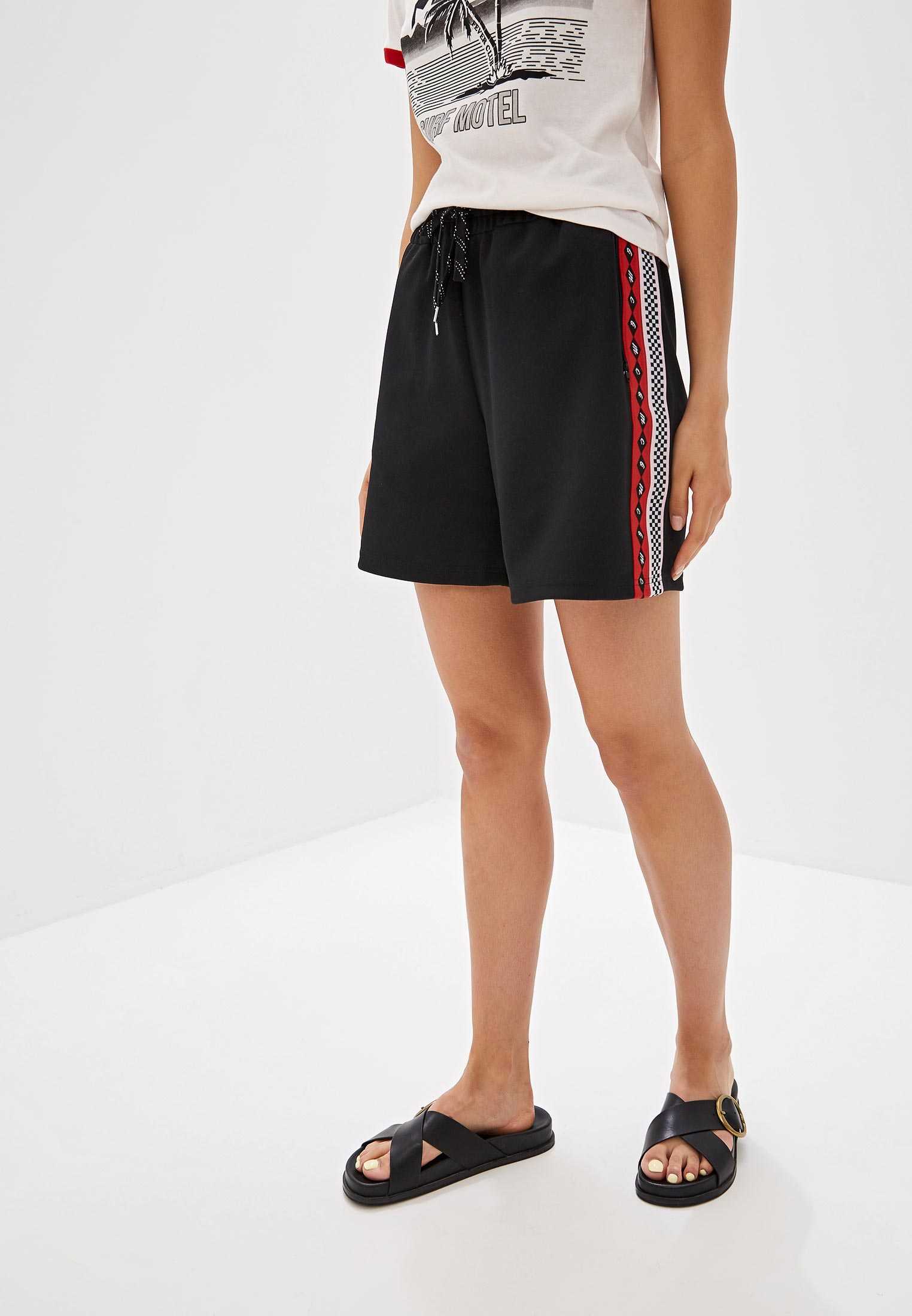 Женские спортивные шорты McQ Alexander McQueen 526969RMJ12
