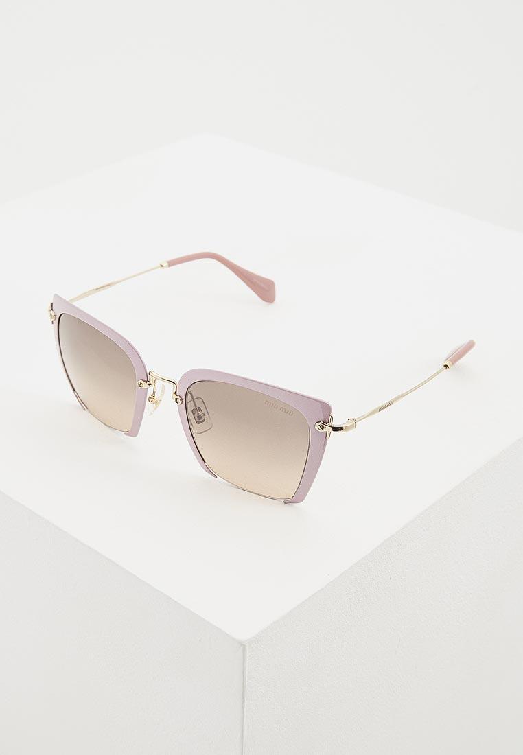 Женские солнцезащитные очки Miu Miu 0MU 52RS