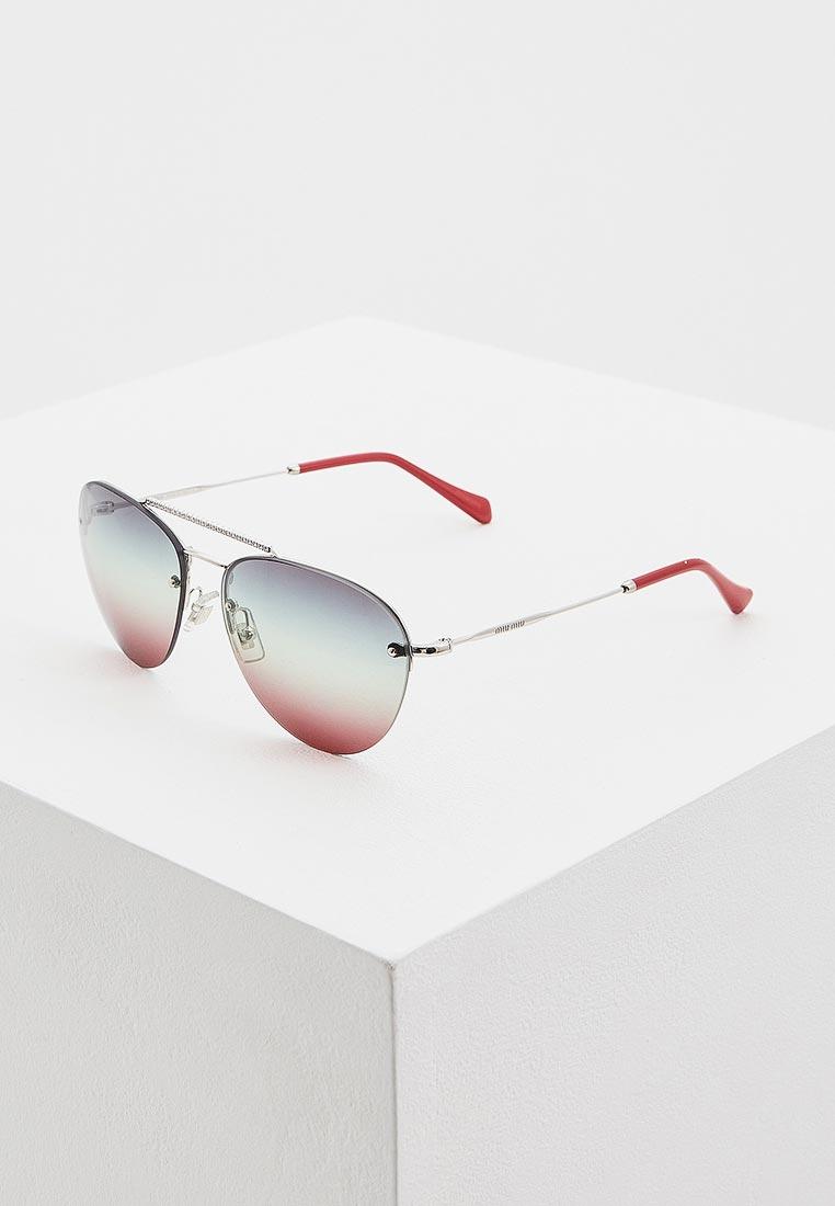 Женские солнцезащитные очки Miu Miu 0MU 54US