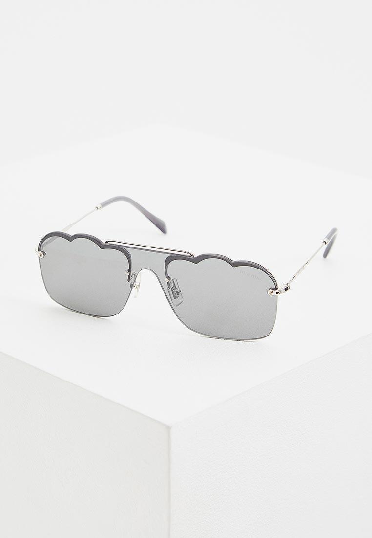 Женские солнцезащитные очки Miu Miu 0MU 55US