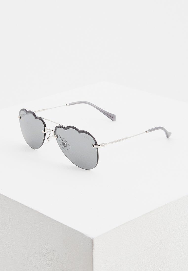 Женские солнцезащитные очки Miu Miu 0MU 56US