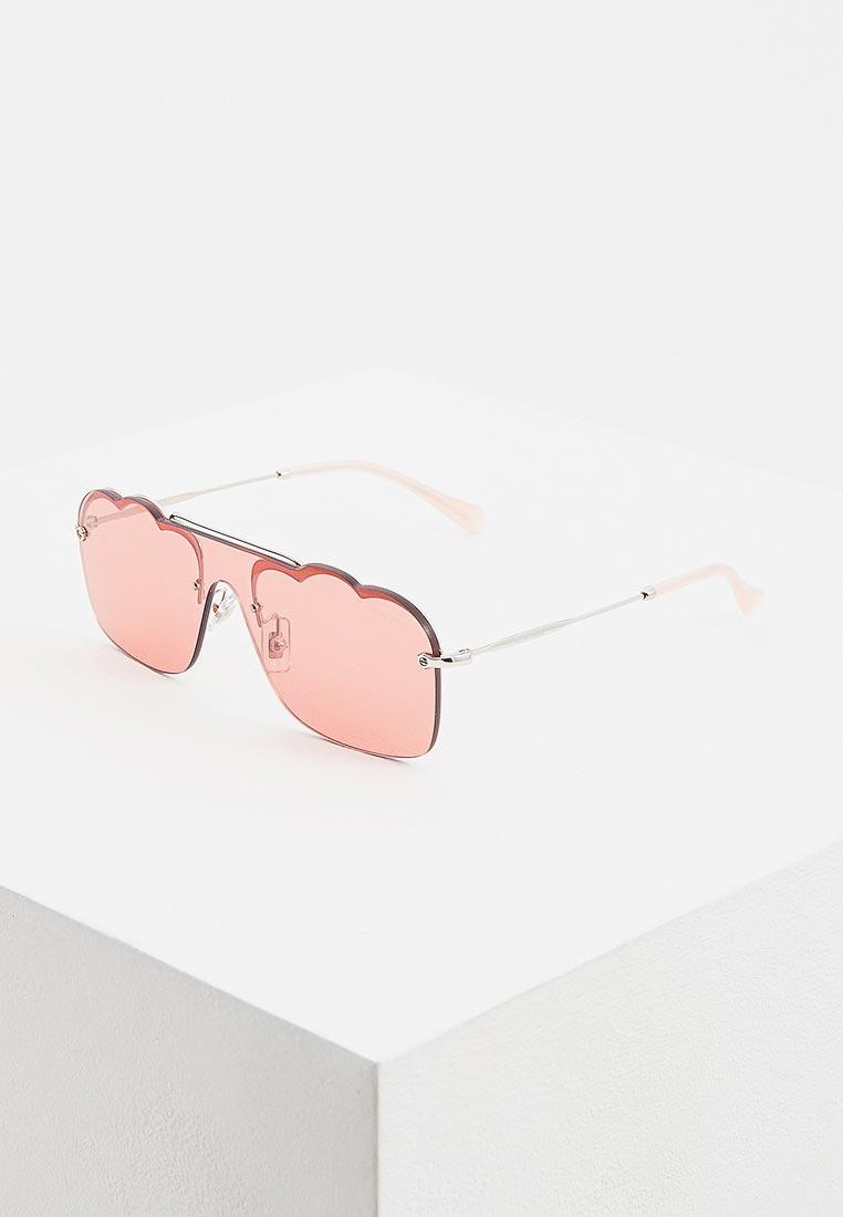 Женские солнцезащитные очки Miu Miu 0MU 55US: изображение 1