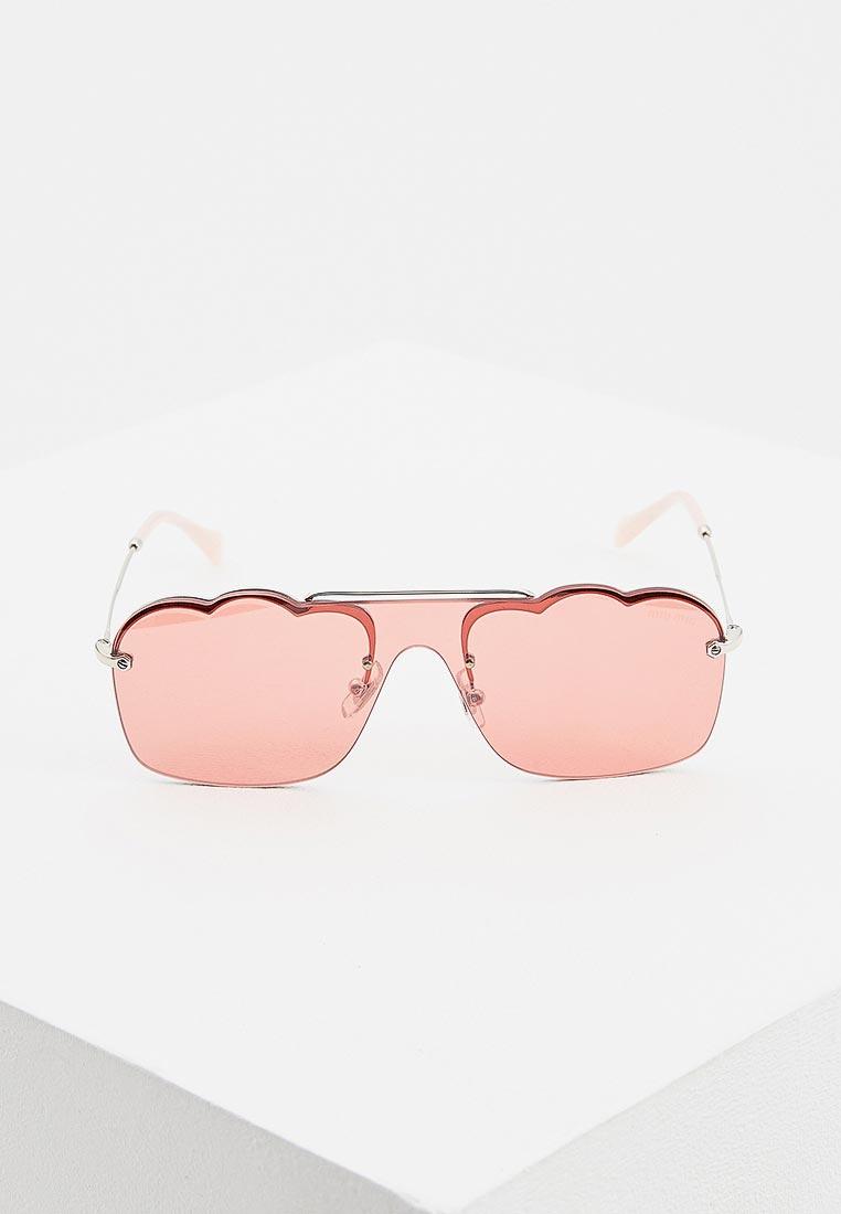 Женские солнцезащитные очки Miu Miu 0MU 55US: изображение 2
