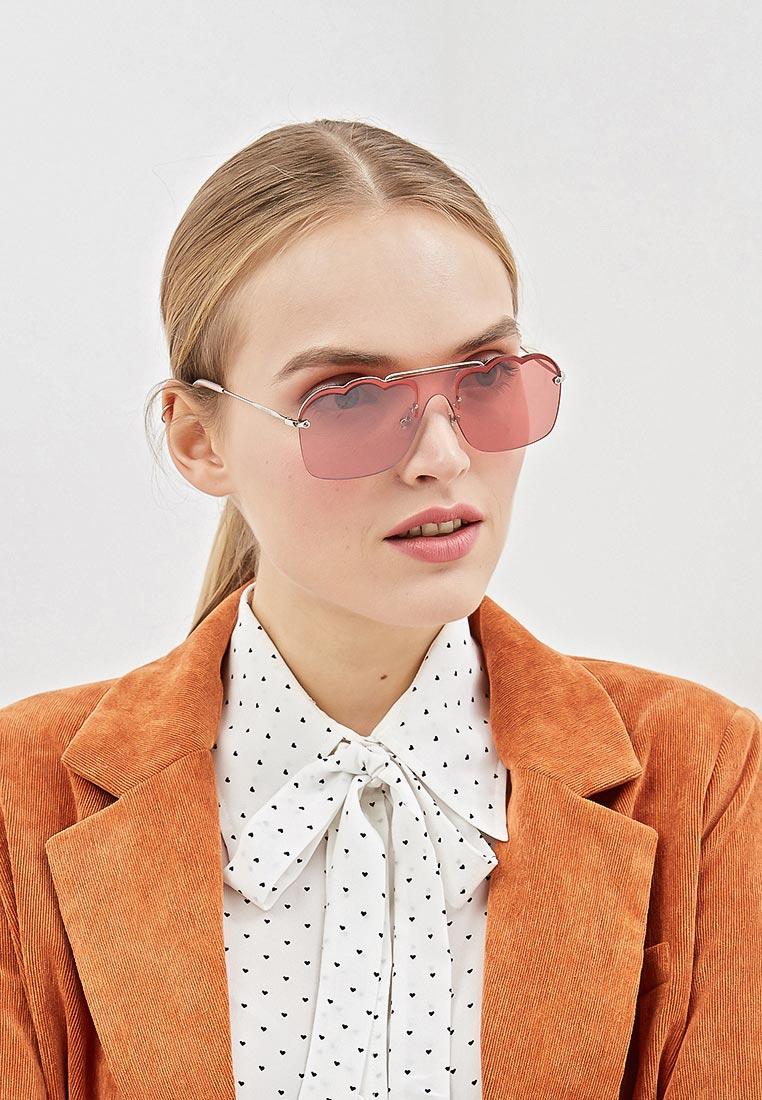 Женские солнцезащитные очки Miu Miu 0MU 55US: изображение 6