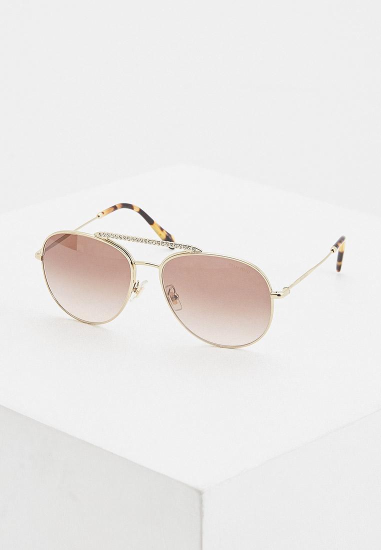 Женские солнцезащитные очки Miu Miu 0MU 53VS