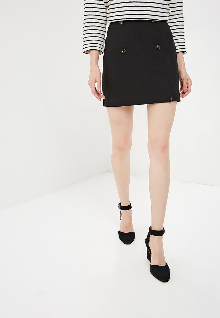 Прямая юбка Miss Selfridge 45L12WBLK