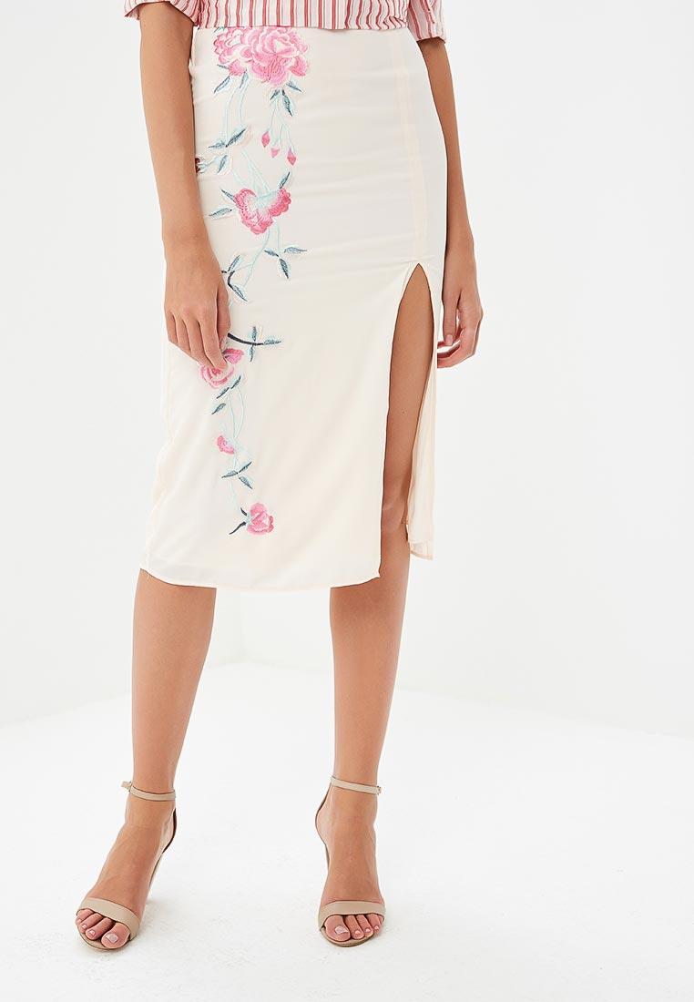 Узкая юбка Miss Selfridge 45L22WPNK