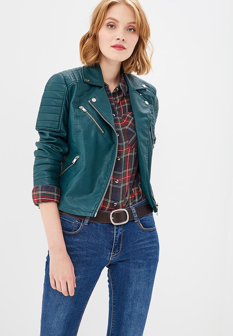 Кожаная куртка Miss Selfridge 44P01XGRN