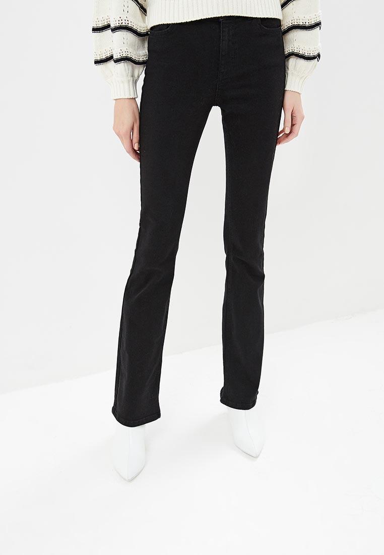Широкие и расклешенные джинсы Miss Selfridge 17A01XBLK