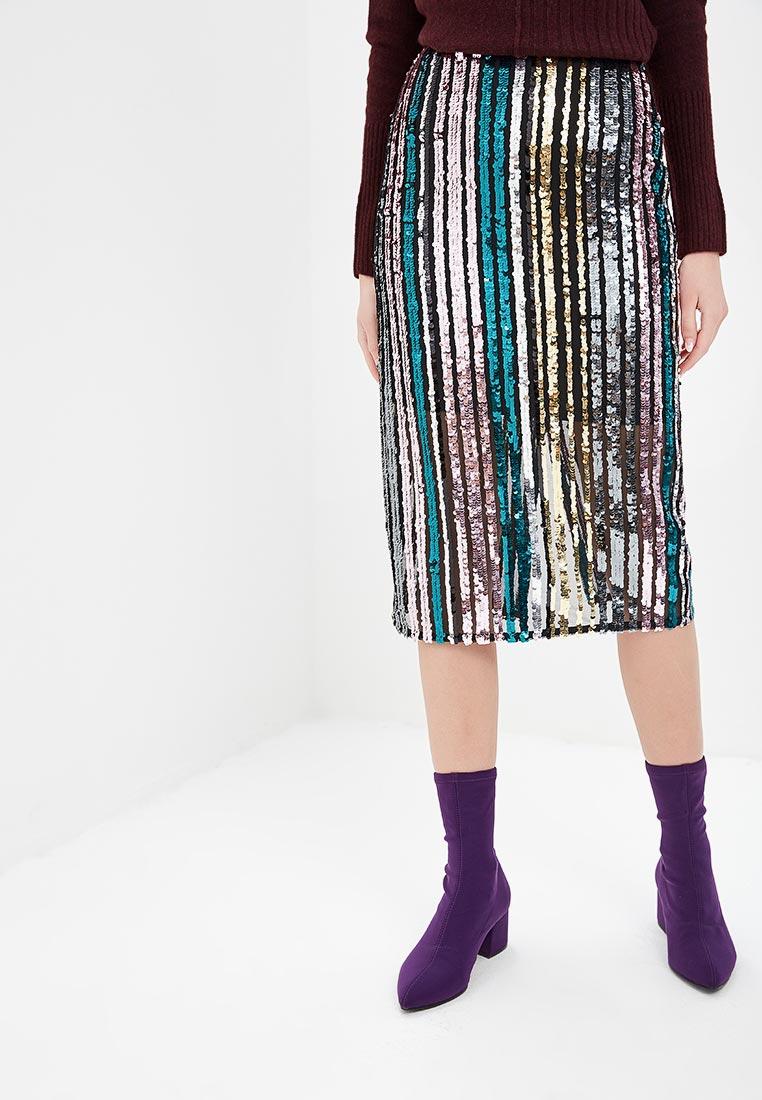 Прямая юбка Miss Selfridge 45L02XGRN