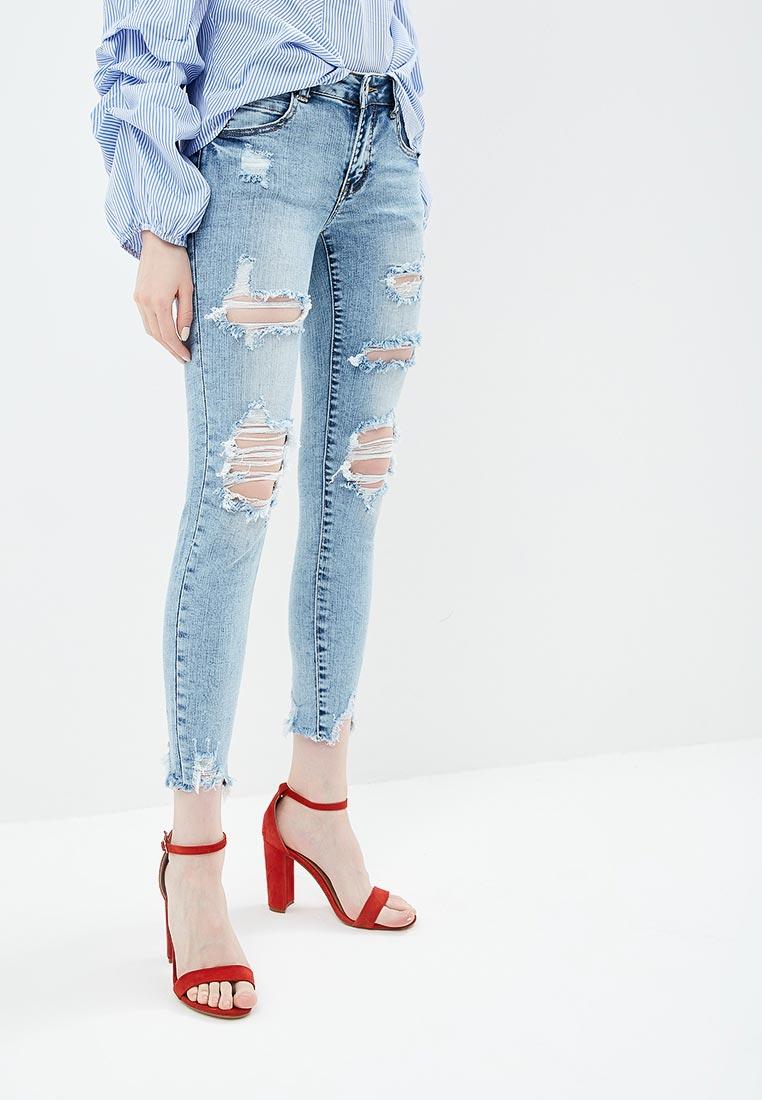 Зауженные джинсы Miss Bon Bon B001-H6998: изображение 1