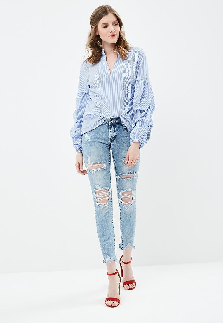 Зауженные джинсы Miss Bon Bon B001-H6998: изображение 2