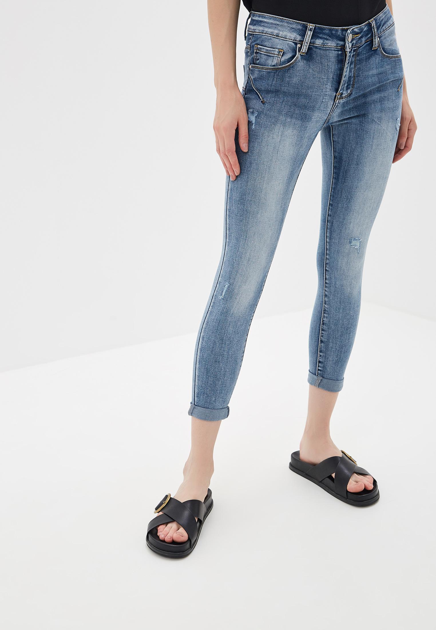 Зауженные джинсы Miss Bon Bon B001-H7852