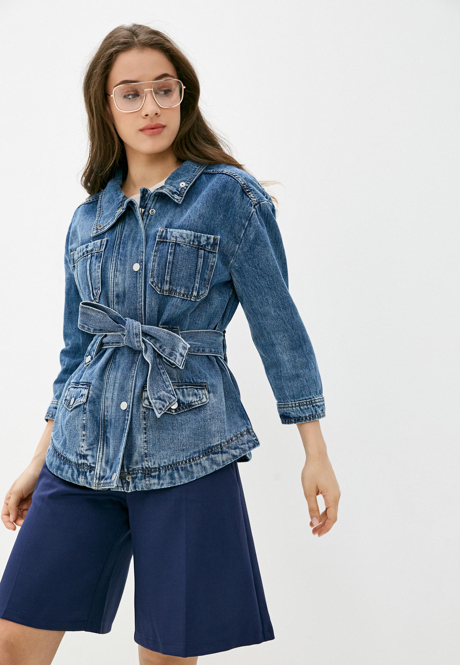 Джинсовая куртка Miss Bon Bon F99-H9177