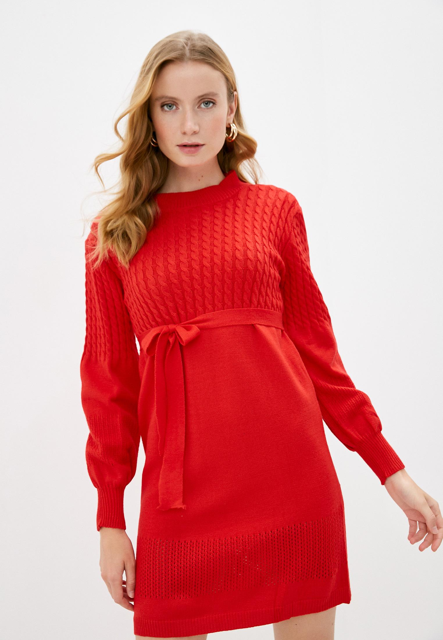 Вязаное платье Miss Gabby 8115