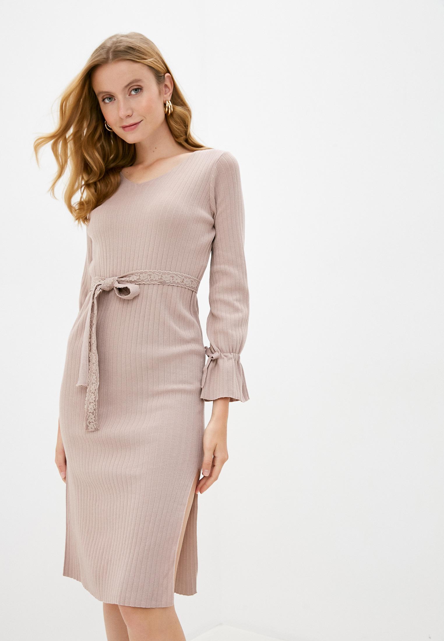 Вязаное платье Miss Gabby 8136