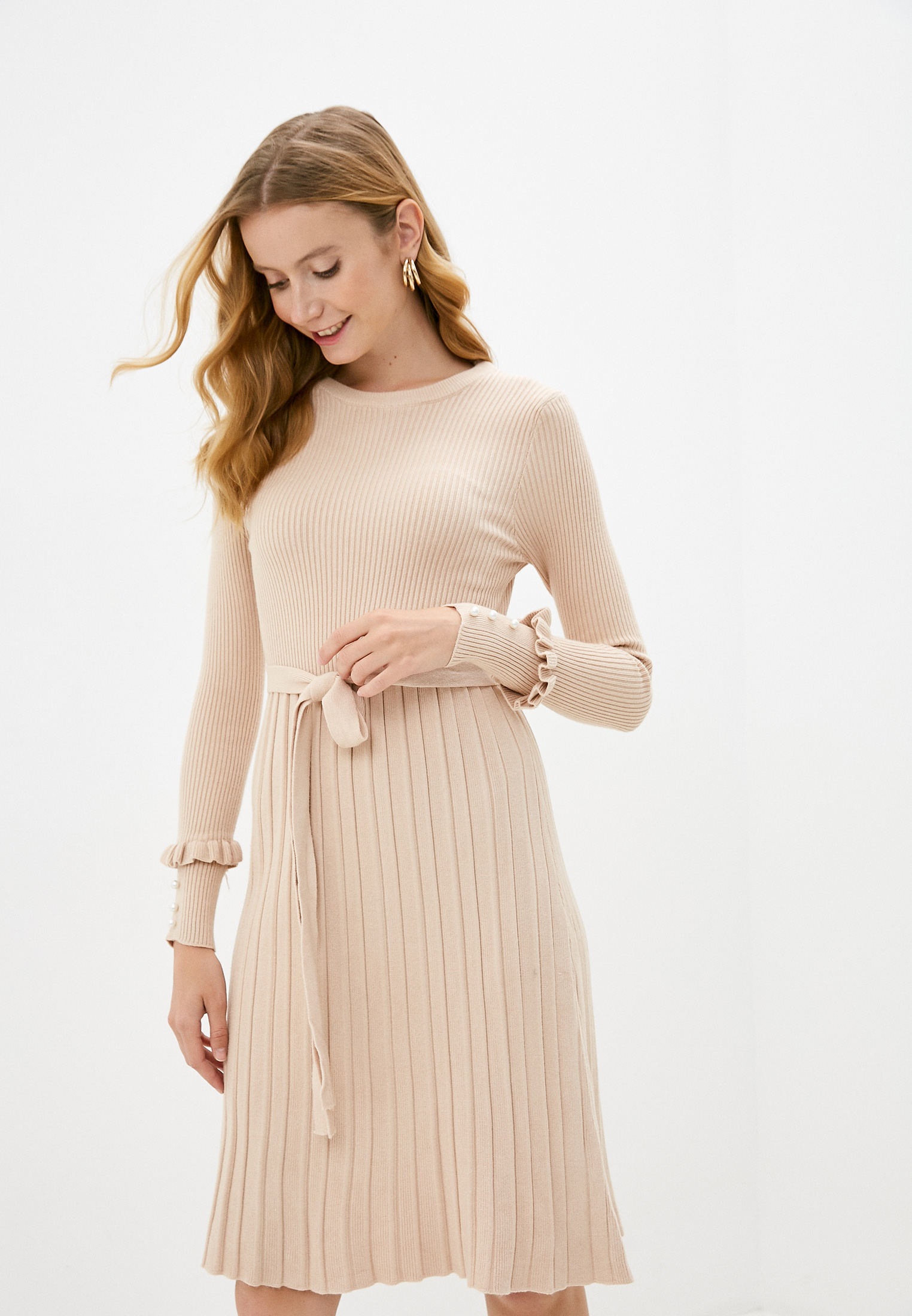 Вязаное платье Miss Gabby 8138