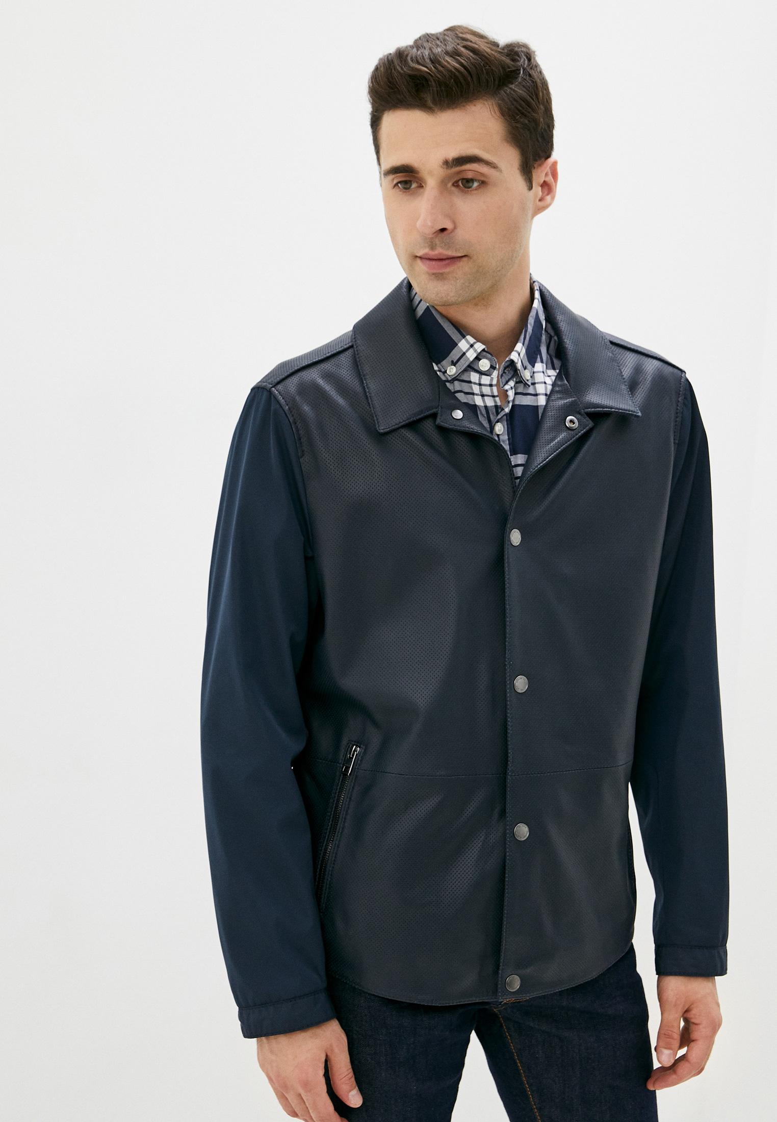 Кожаная куртка Michael Kors CU08CG387J