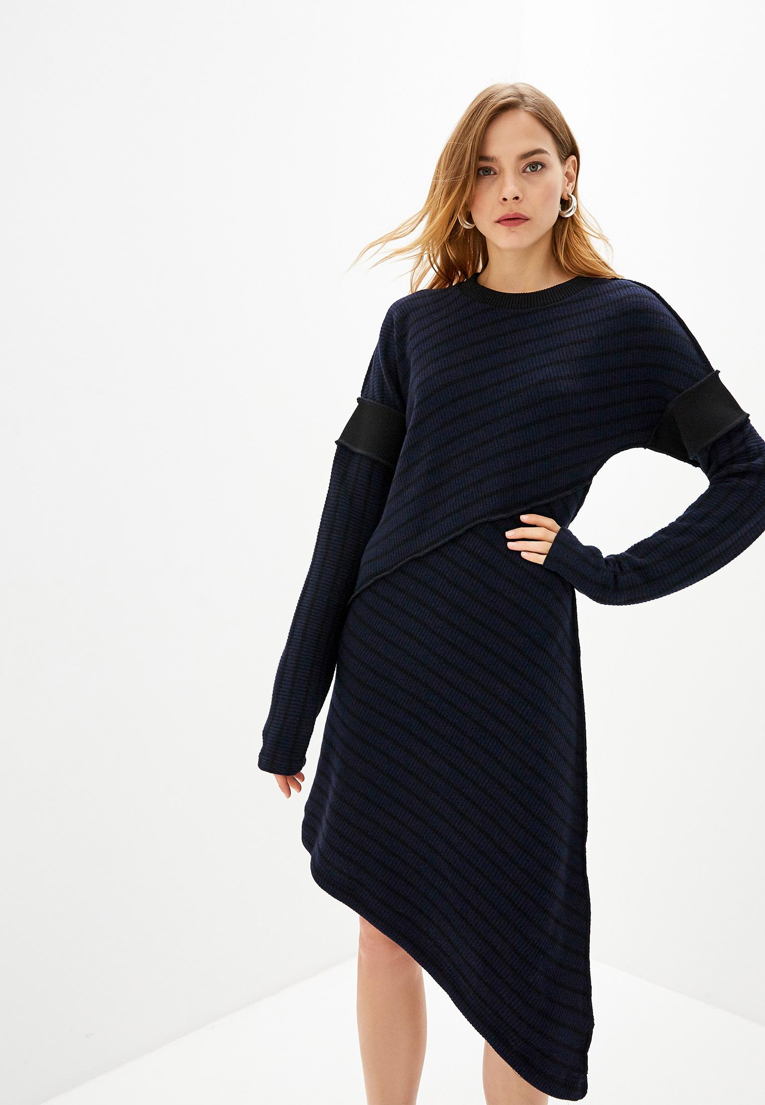 Вязаное платье MM6 Maison Margiela S32CU0067