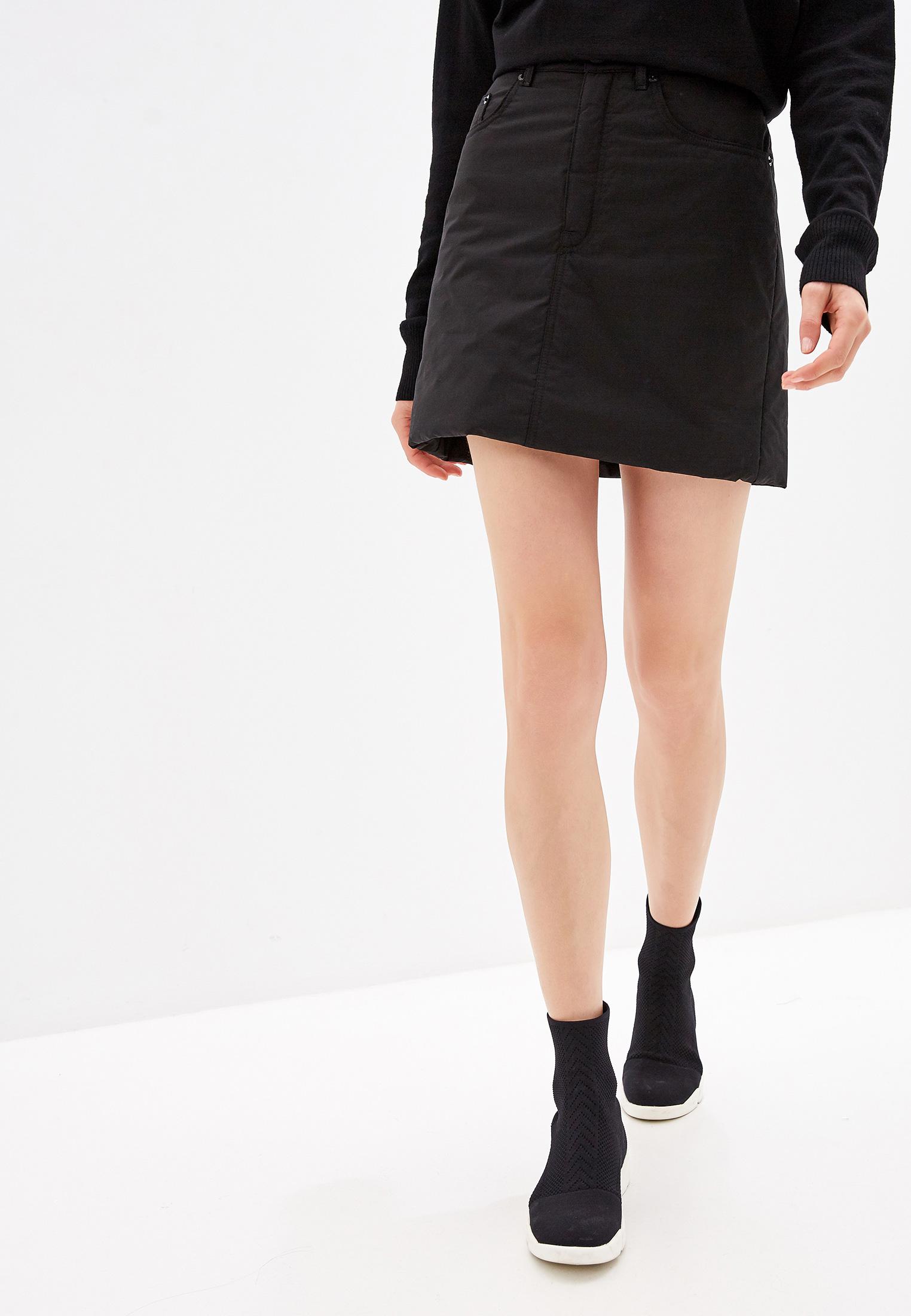 Прямая юбка MM6 Maison Margiela S62MA0012