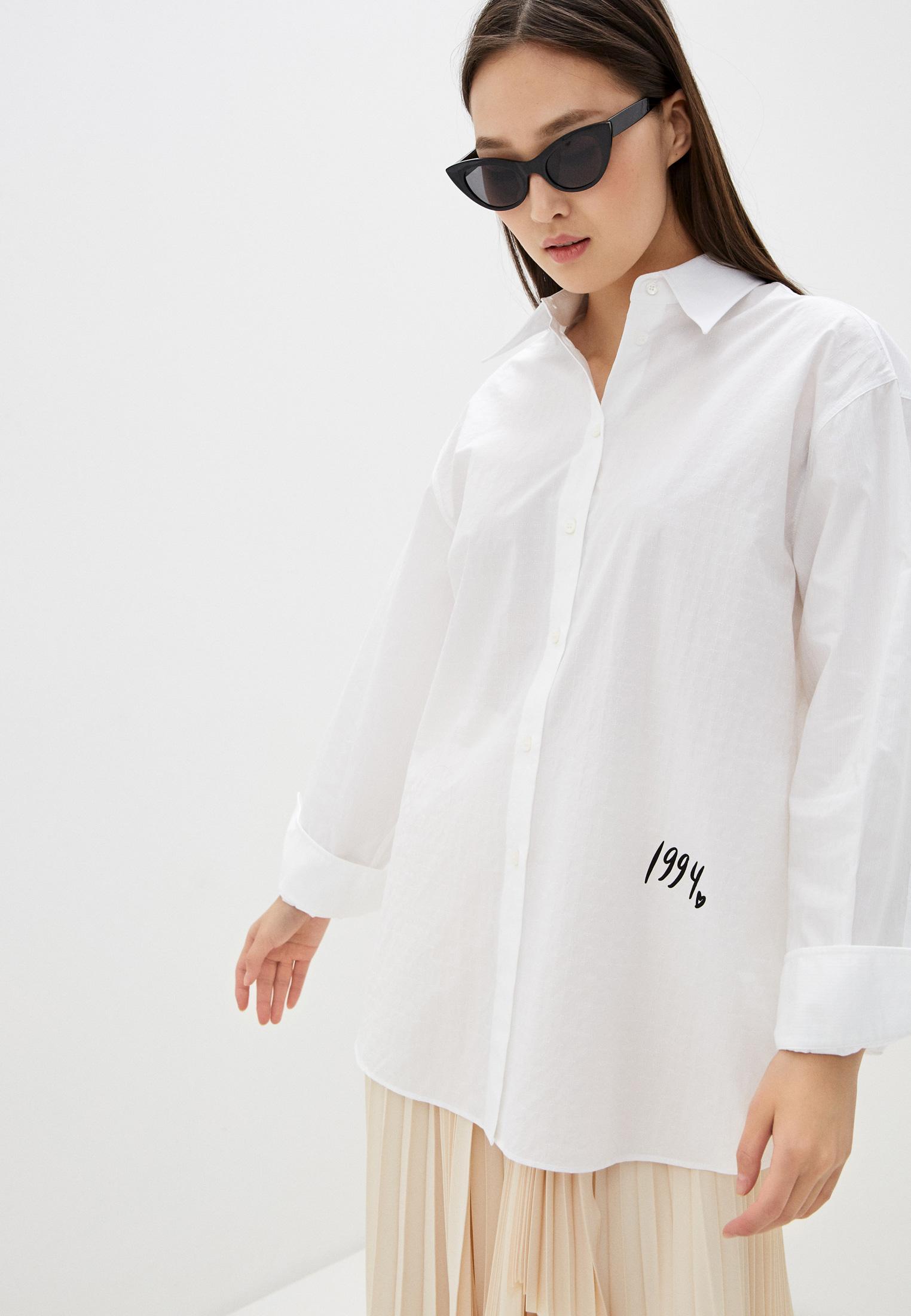 Женские рубашки с длинным рукавом MM6 Maison Margiela S32DL0257