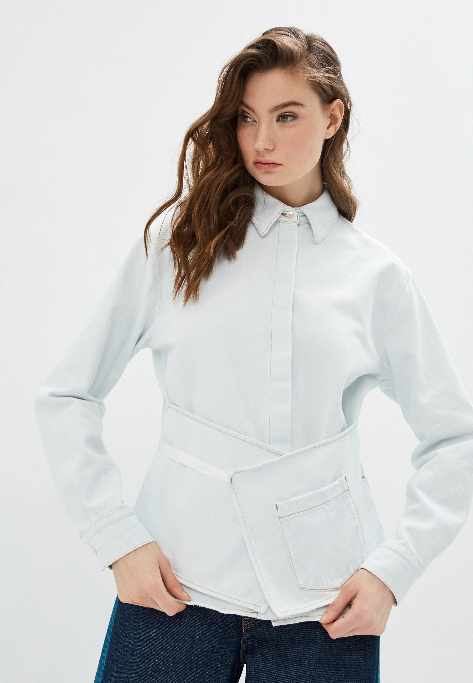 Женские джинсовые рубашки MM6 Maison Margiela S52DL0130